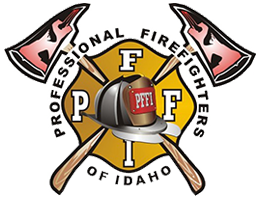 Professional Firefighters of Idaho logo
